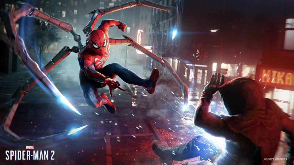 Spider-Man 2 video game PS5